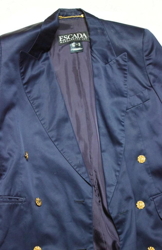luxury good designer blazer from ebay