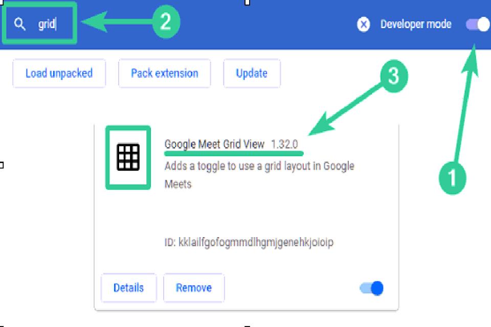 Image google meet check version
