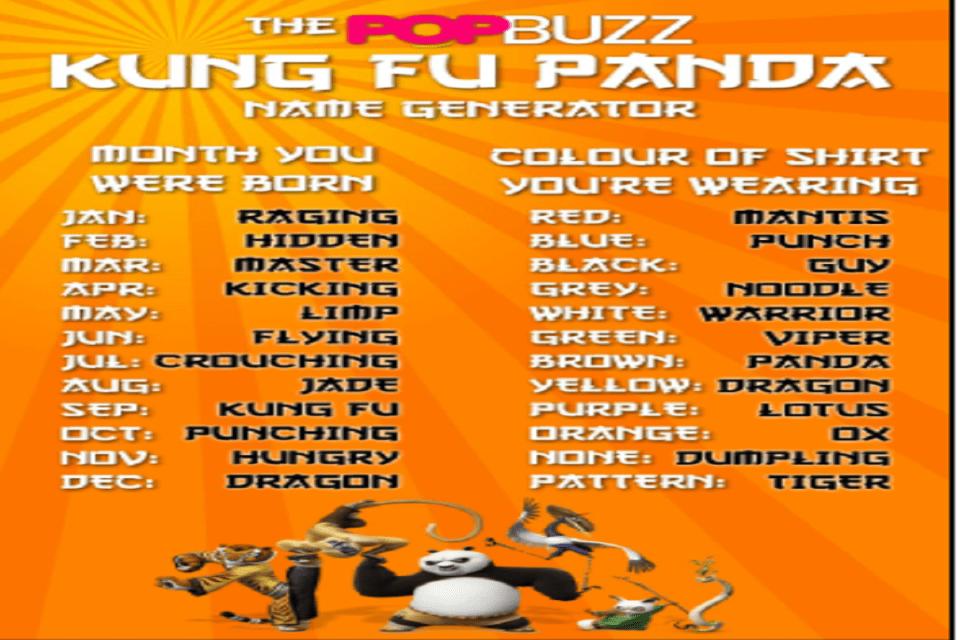 Panda Names