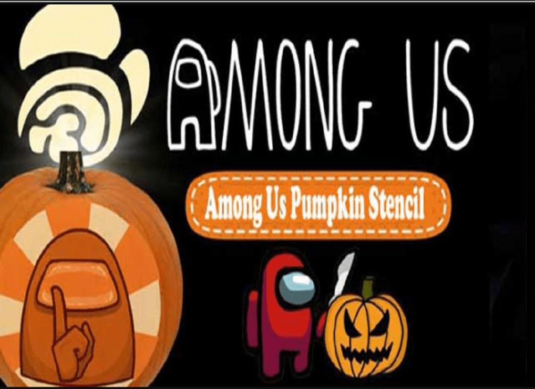 Among Us Pumpkin Stencils