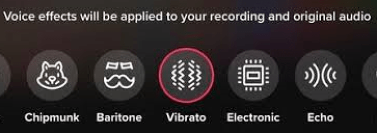 Image of how to get Voice Effects on TikTok