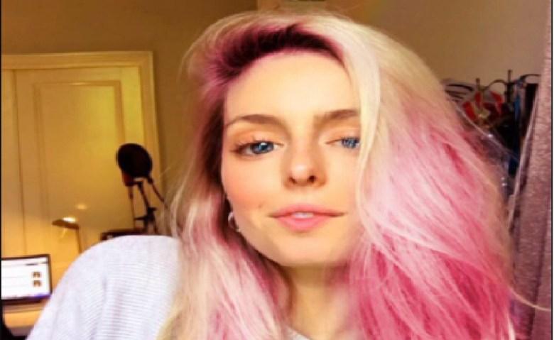 Image of Pink Hair Filter