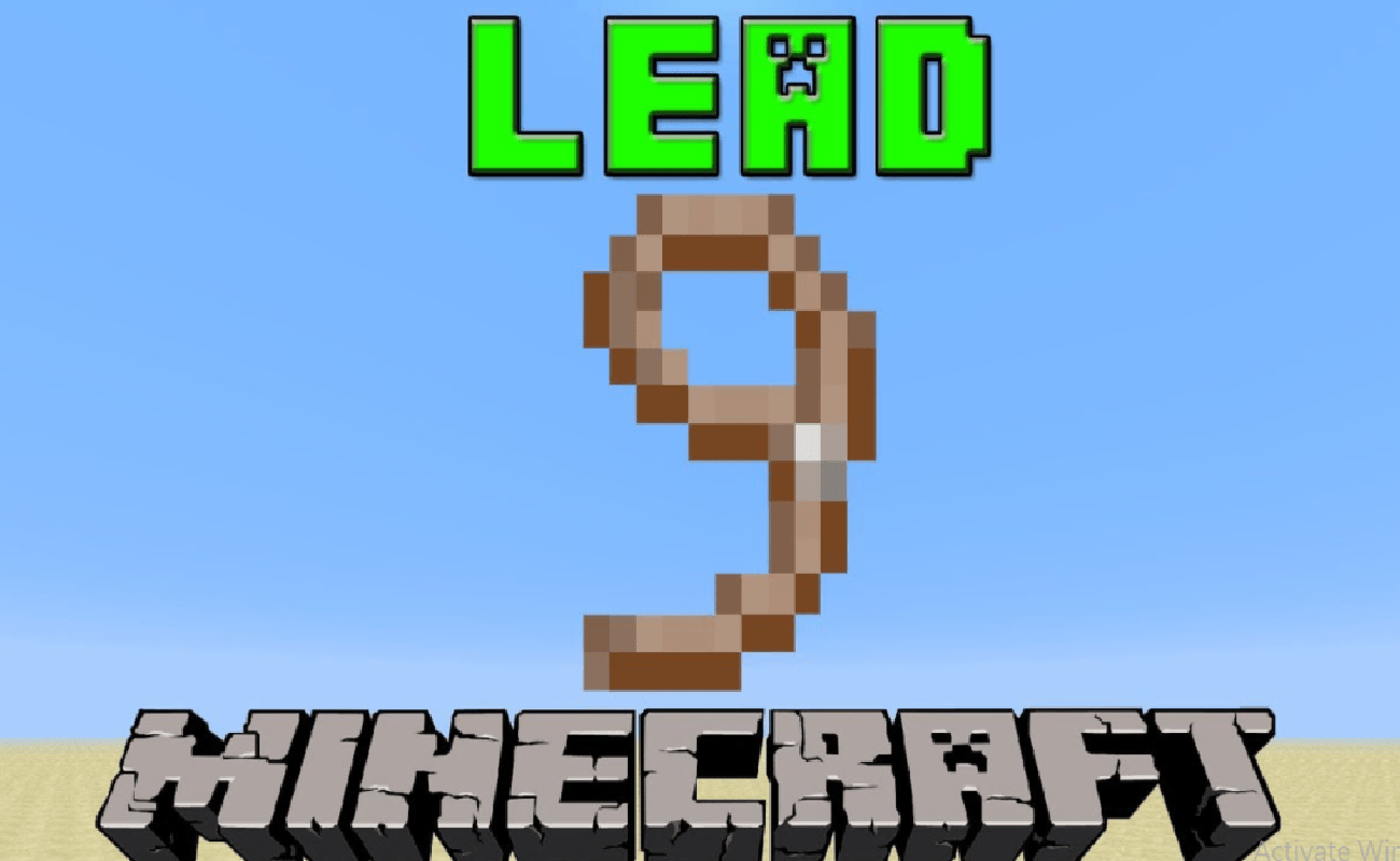 image of How To Make A Lead In Minecraft