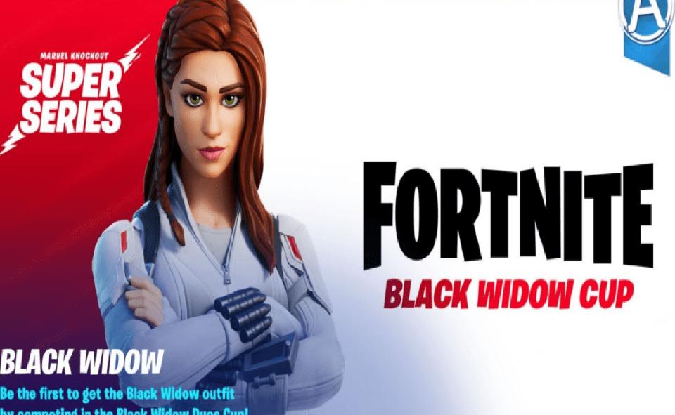 IMAGE of black widow cup fortnite