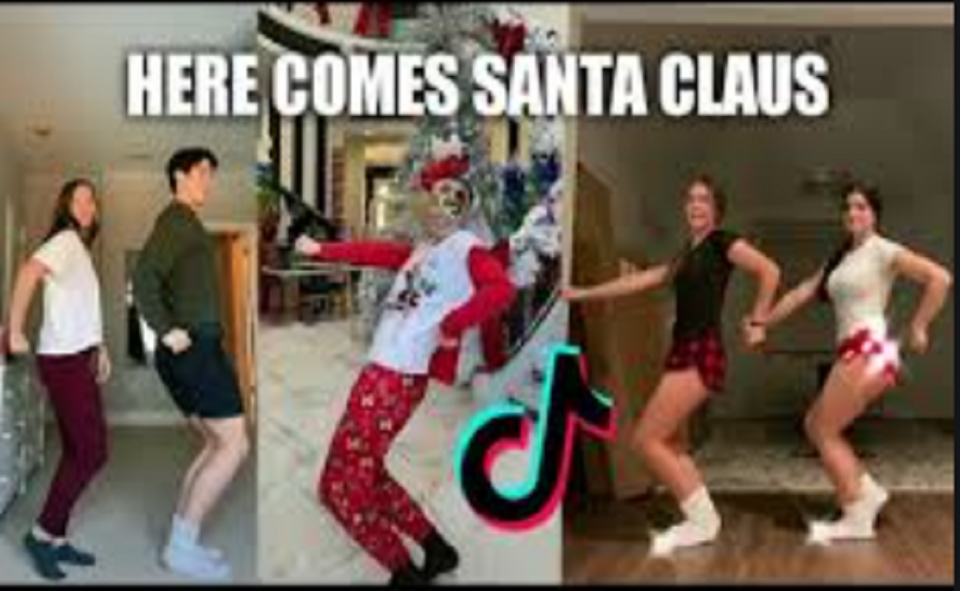 Image Of What Is Here Comes Santa Claus On TikTok