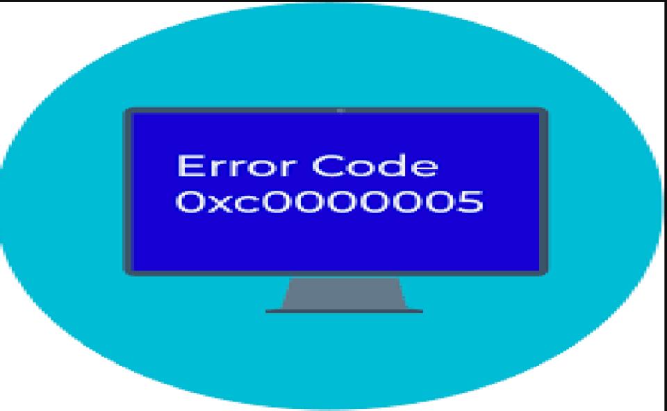 Image of Error Code 0xc0000005
