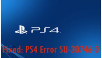 PS4 Error Su-30746-0