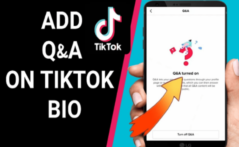 Image Of How To Add Q&A On TikTok