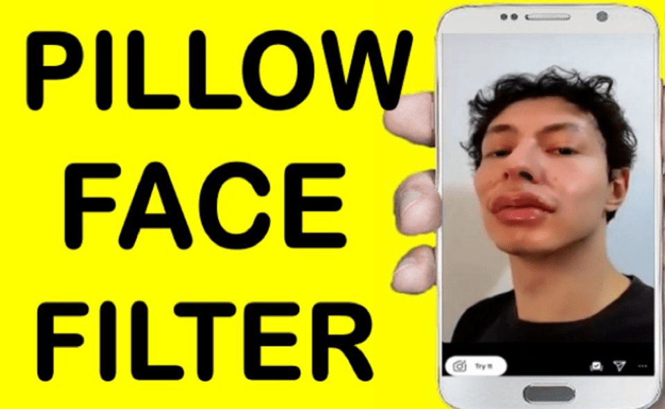 Image Of What Is Pillow Face Filter On Instagram