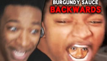 Burgundy Sauce Backwards