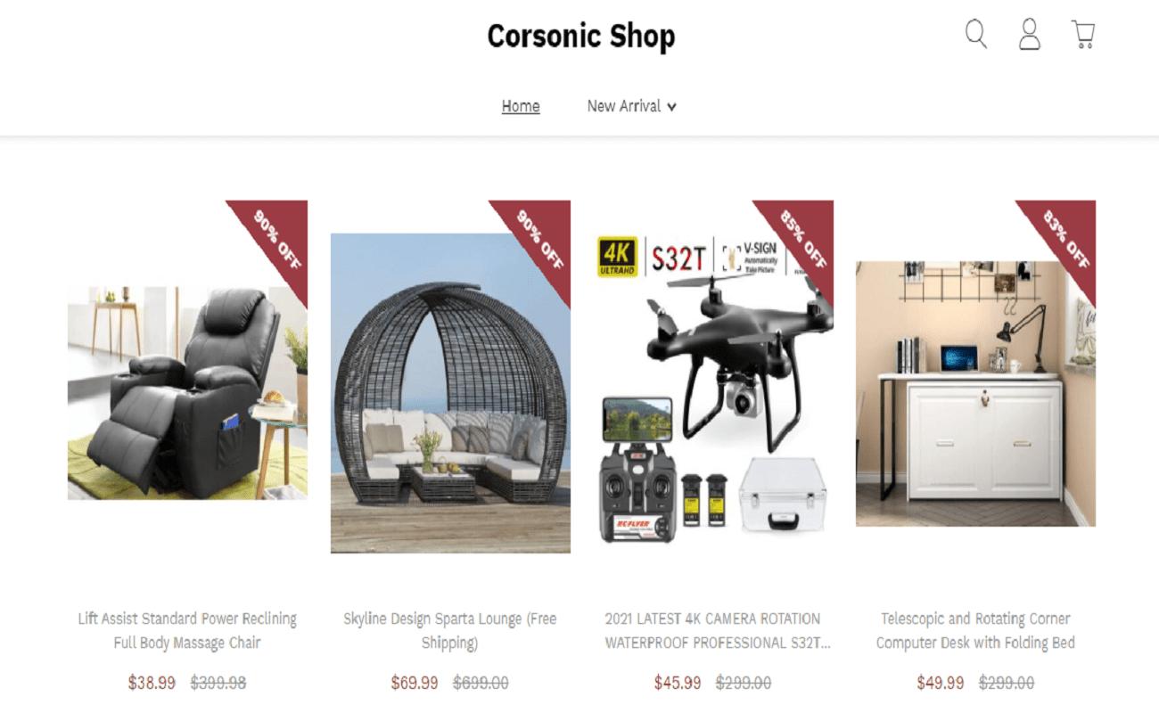Corsonic Shop