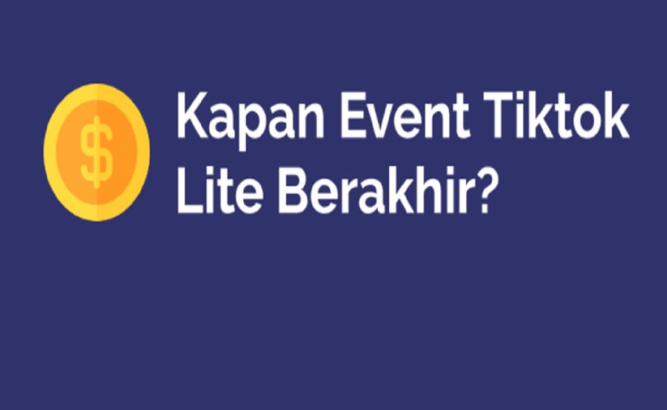 Image Of TikTok Lite Event 2021