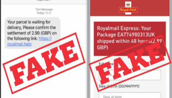 Royal Mail Text Scam