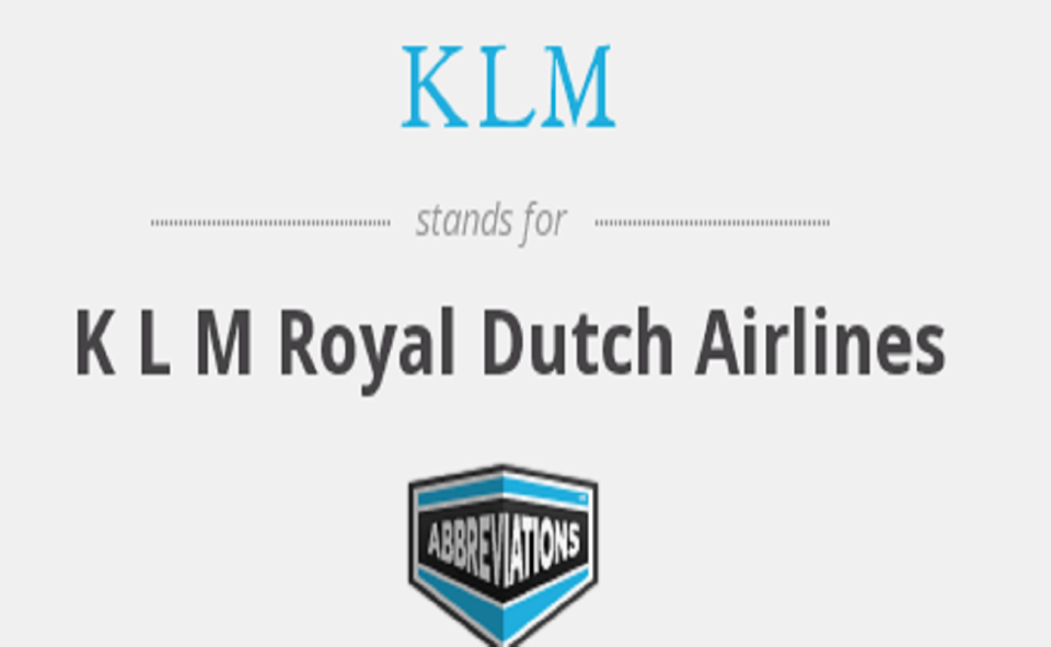 Image Of What Is KLM On TikTok