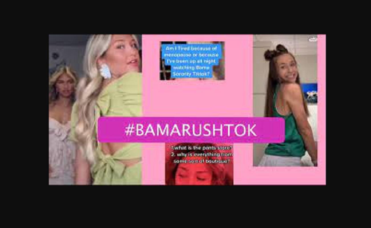 Bamarush And Alabama Rush Trend TikTok