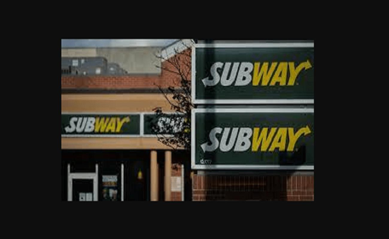 Subway Worker Walking On Food