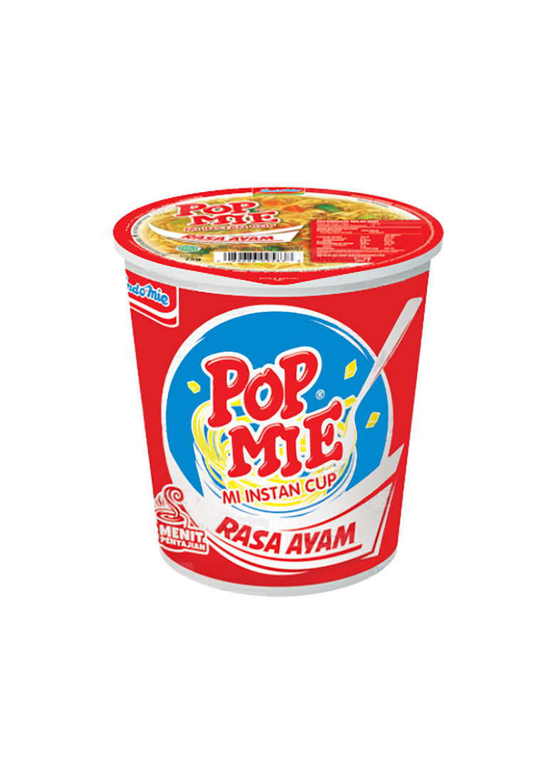 Pop Mie Ayam : Baking, Cooking, Noodles, Pasta, Instant, Indofood, Jumbo, (72g)