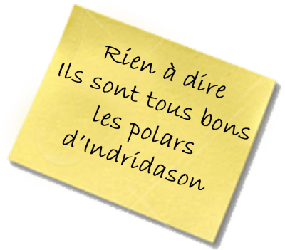 Le Lagon Noir post it