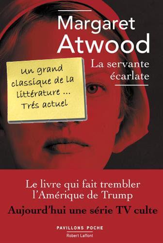 Margaret Atwood La Servante Carlate Librairie Bruneteaux