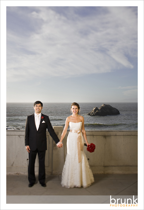 Jessica  Justin  Married  SF Fairmont  Cliff House