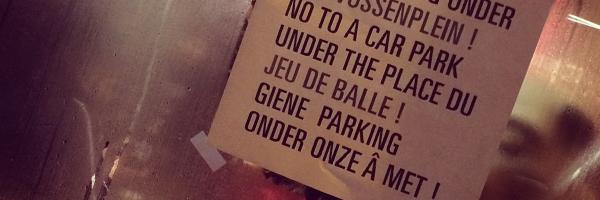 Touche pas à mon Jeu de Balle / Raak niet aan het Vossenplein