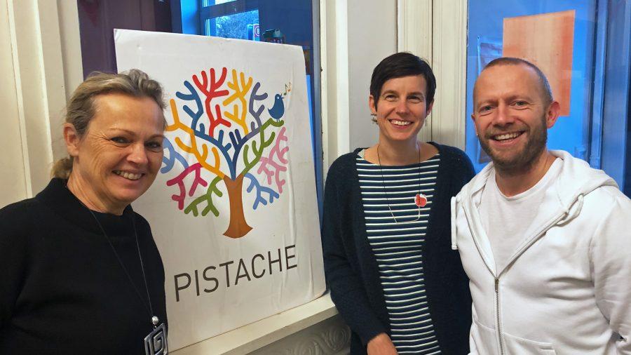Veronique van Merris en Birgid Decleyn, de directrices van de meertalige school Pistache
