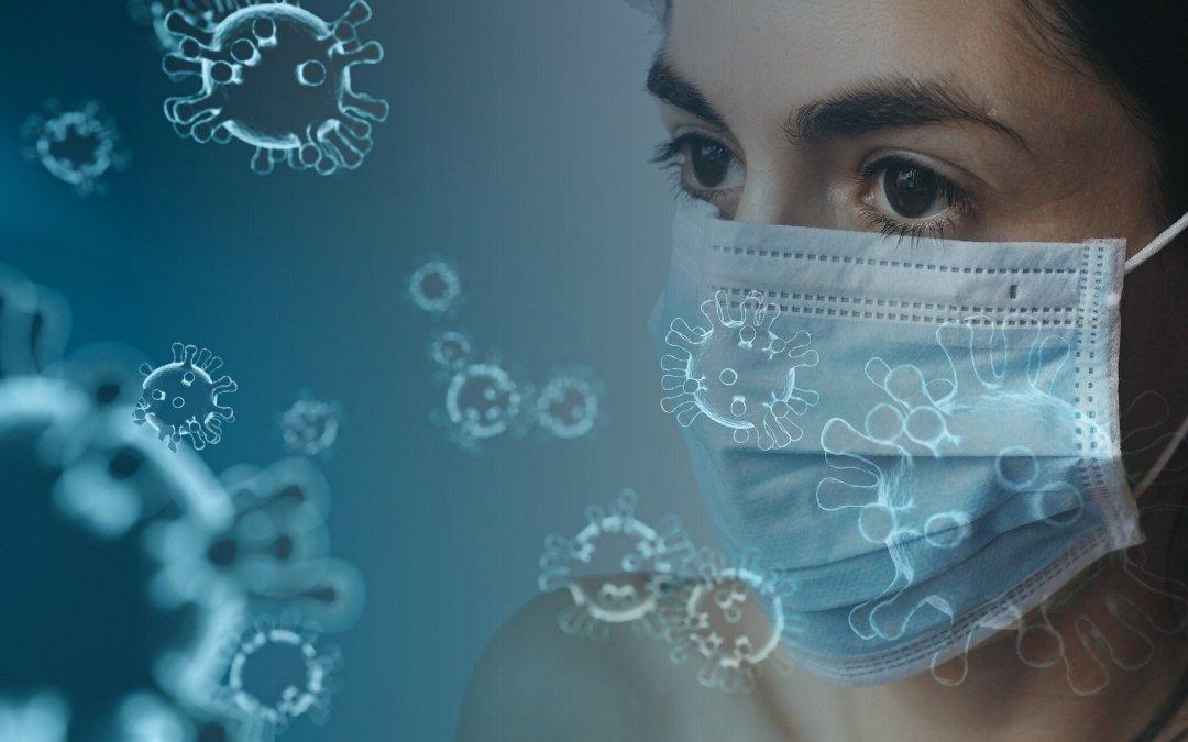 Coronavirus. Foto: Tumisu. Bron: https://pixabay.com/nl/photos/coronavirus-virus-masker-corona-4914026/