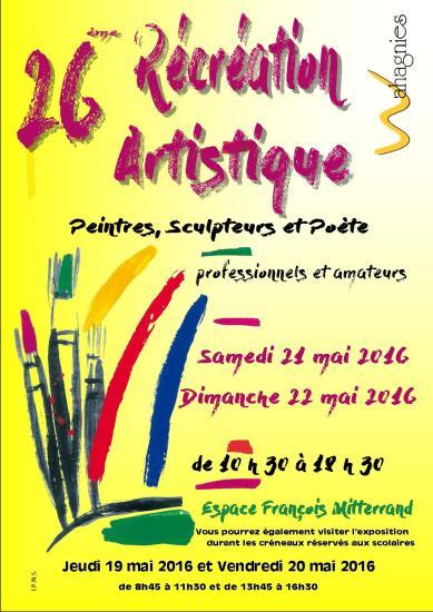 Exposition peintures, sculptures et poésies