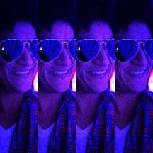 bruno mars look alike johnny rico at a private event in downtown los angeles