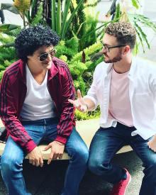Bruno Mars Look Alike And Justin Timnberlake Look Alike