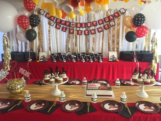 24k magic themed party