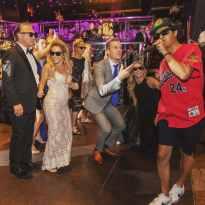 las vegas bellagio wedding reception party