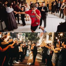 Wedding Reception In Los Angeles With Bruno Mars Look ALike And Impersonator