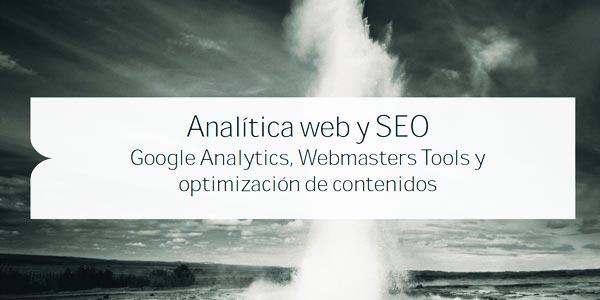 Contenidos de la guía de analítica web y SEO