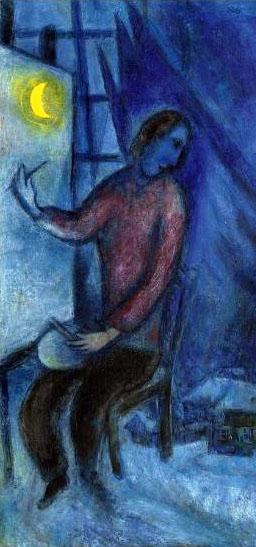 Chagall_hommage au passé_détail