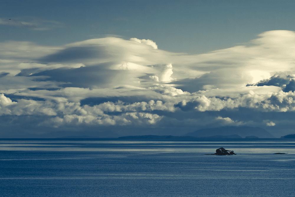 Cloud Mountains - 01/21/2013 - Strait of Georgia