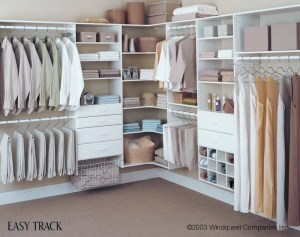 custom white closet system brunsell lumber