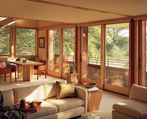 custom wood sliding exterior doors madison wi