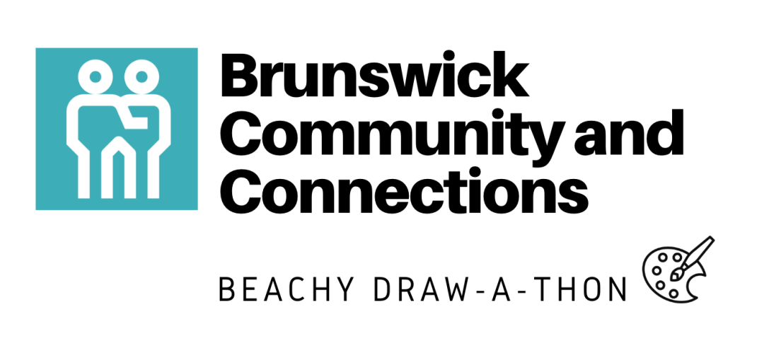 Brunswick Community and Connections' Beachy Draw-A-Thon Event