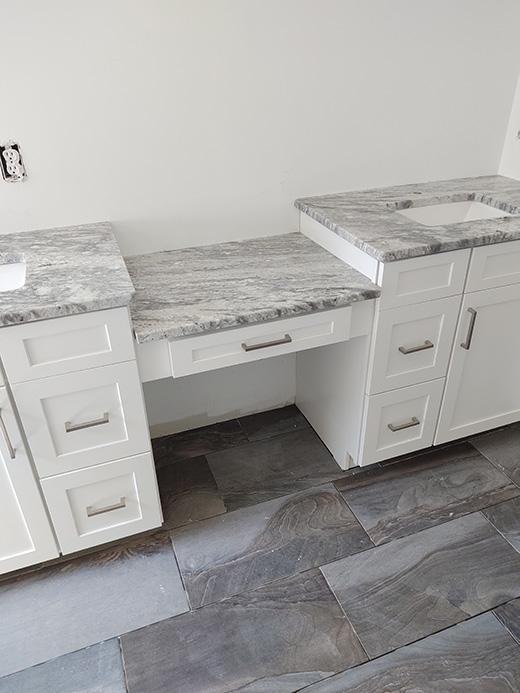 Master Bath Cabinets and Countertops