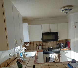 Kitchen Remodel Before in Supply NC