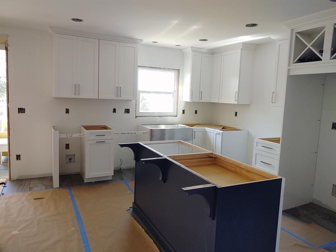 Kitchen Cabinets Installation