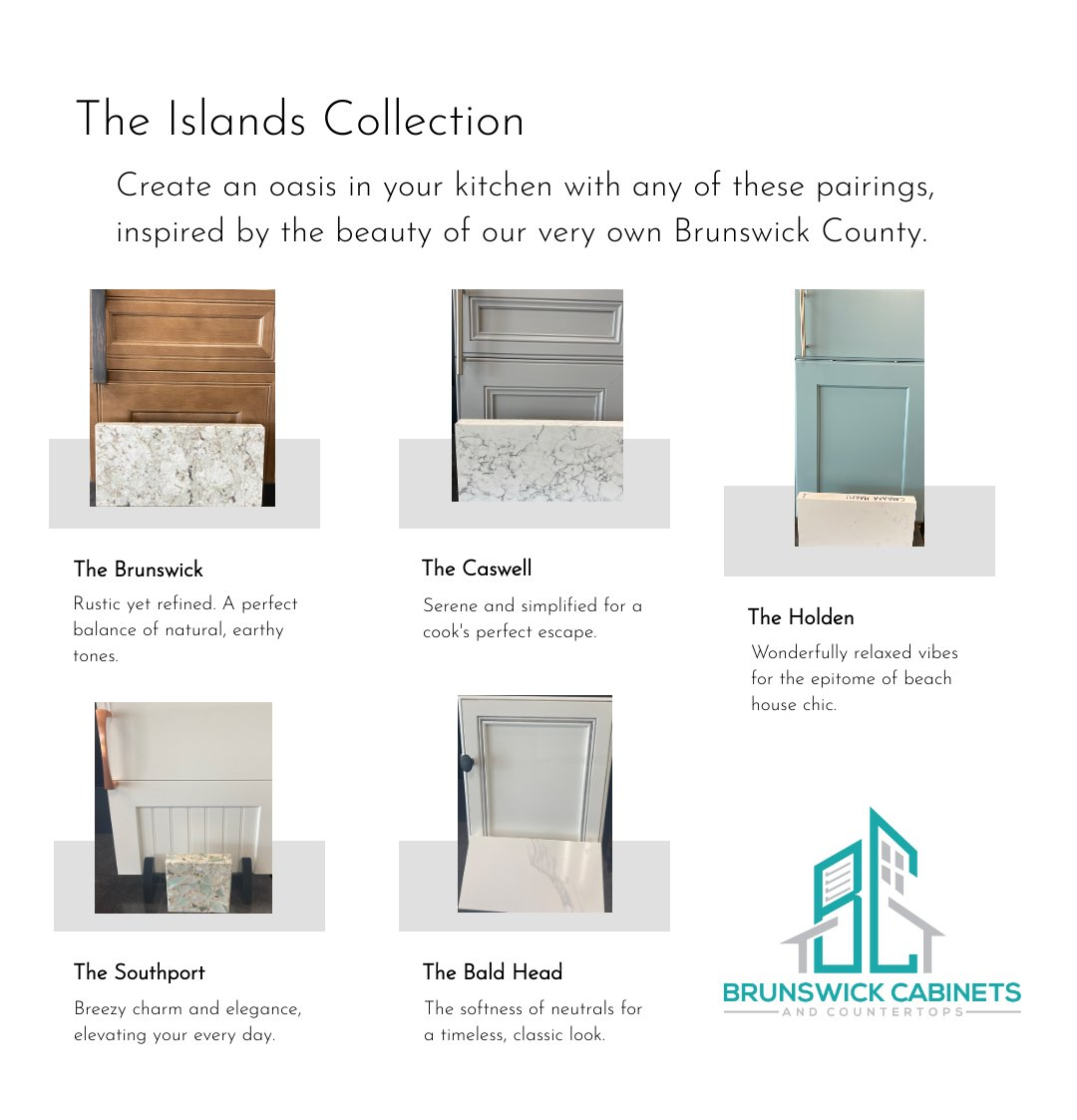 Curated Collection by Brunswick Cabinets and Countertops