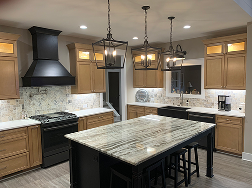 Traditional Kitchen Remodel by Designer Chris Gibson