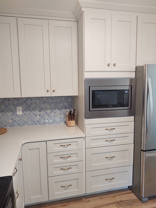 Oak Island NC Fixer Upper Kitchen