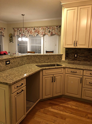 Kitchen Cabinets and Countertops in BSL