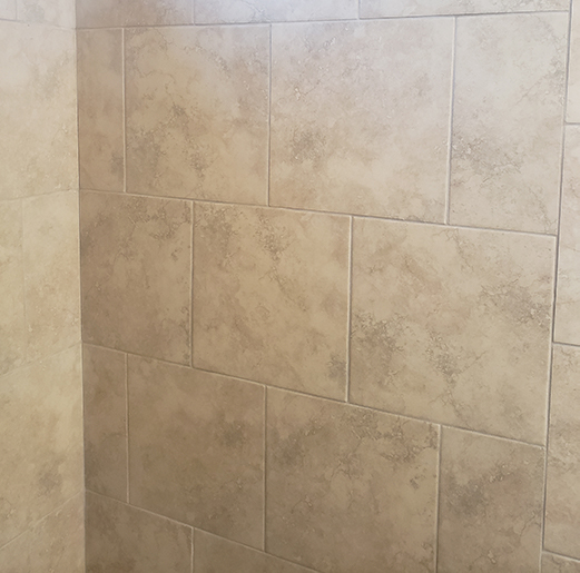 Ceramic Tile Shower Project in Supply