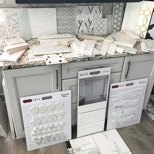 First Look Tile Selections by Lauren