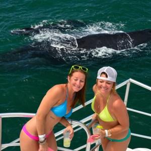 catamaran tour girls