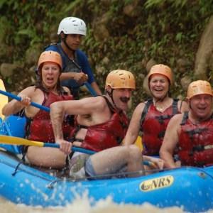 white water rafting naranjo river costa rica adventure